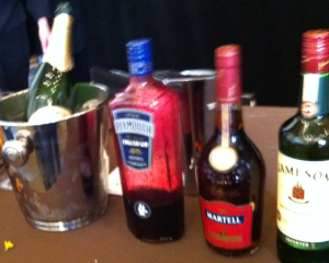 Pernod Ricard Brand bottles